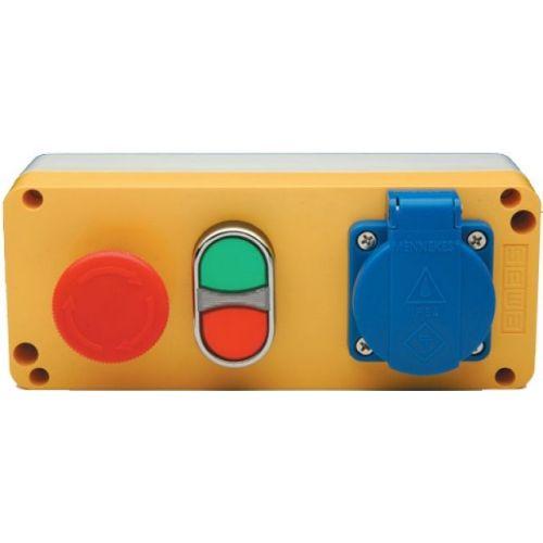 Cajas de Mando Botoneras Interruptor de Pedal