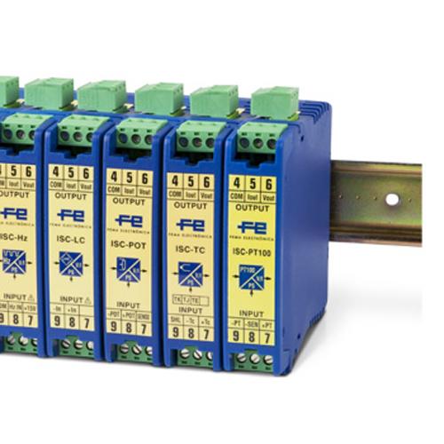 Convertidores de Señal ISC Temperatura Fema Electrónica