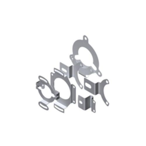Ángulos de soporte rígidos y flexibles para Encoders
