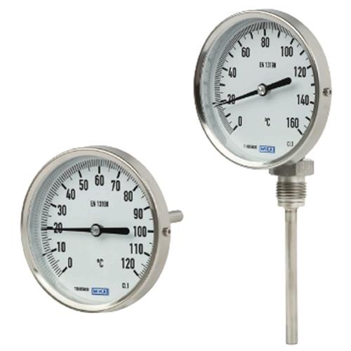 Termometros Electromecanicos Wika Disai Automatic Systems A seconda della proprietà usata, i termometri sfruttano il principio zero della termodinamica oppure altre proprietà macroscopiche che sfruttano relazioni con la temperatura. termometros electromecanicos wika